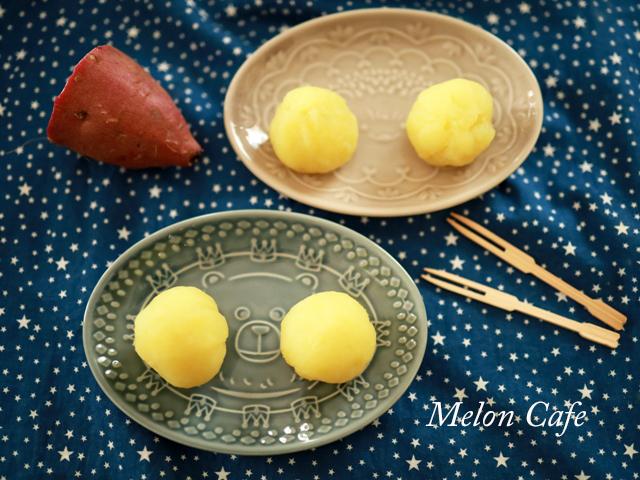 片栗粉とレンジで簡単芋蒸しようかん00