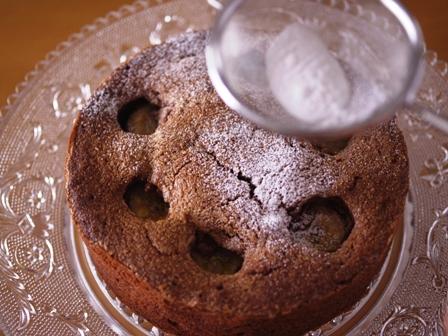 チョコバナナのドットケーキ06