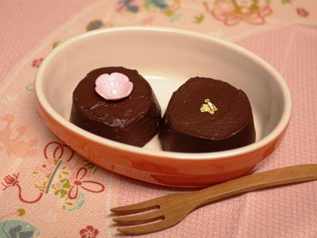 ガナッシュのチョコレートケーキ