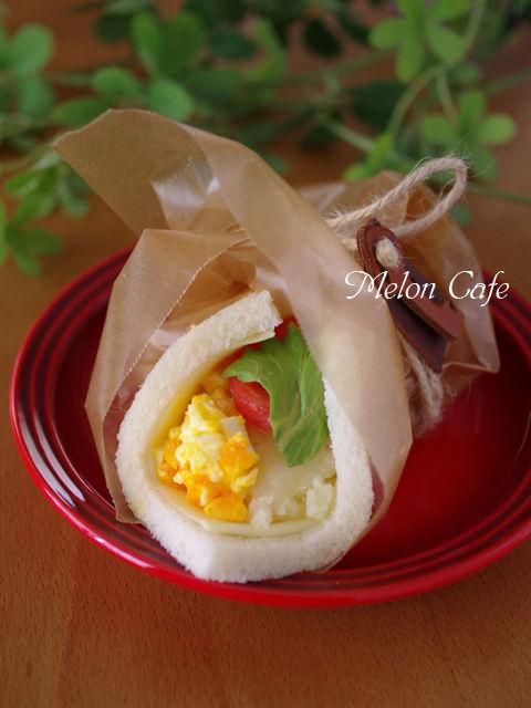 サンドシナイッチ卵とポテトのサラダ01