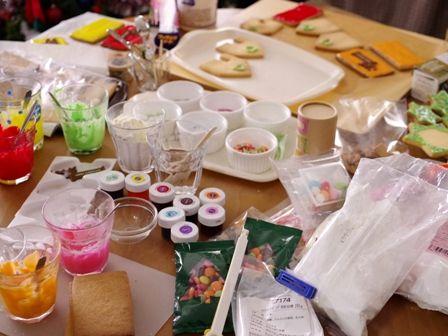 クリスマスのヘクセンハウスお菓子の家2014meloncafe05