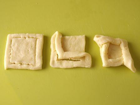 ホットケーキミックスで簡単デニッシュパンりんごシナモン05