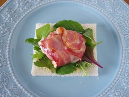 サンドシナイッチチーズ入りベーコン07