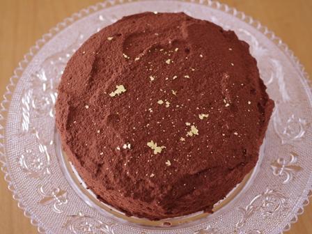 チョコレートのクリスマスケーキ08
