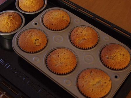 ホットケーキミックスでカップケーキの簡単クリスマスシュトレン08