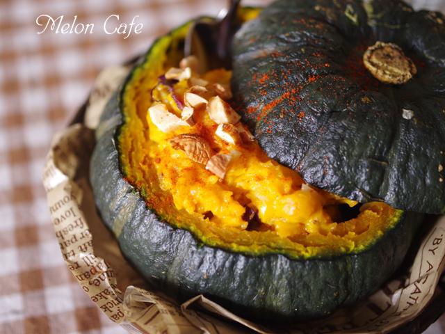 まるごとかぼちゃの簡単まぜまぜサラダ06