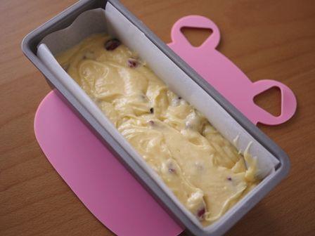 クランベリーのパウンド味わい深い簡単ケーキ04
