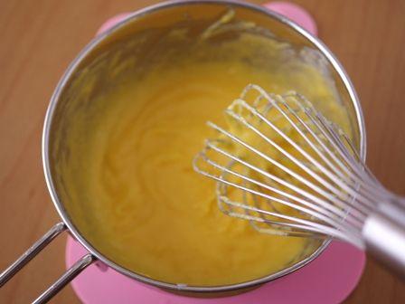 マロンペーストでつくる抹茶のカップケーキ01