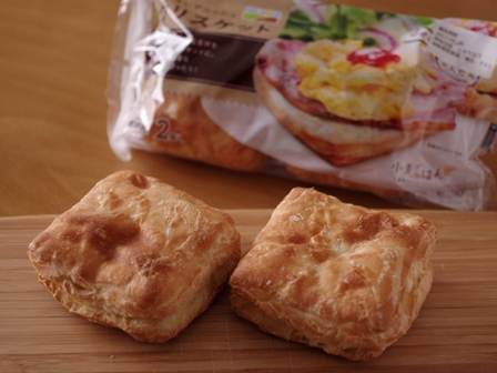 簡単チーズ包みベーコンと卵のクリスケット朝食01