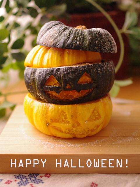 ハロウィンかぼちゃのまるごとクリームチーズケーキaa