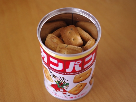 カンパンのチョコアレンジおいしい防災缶レシピ01