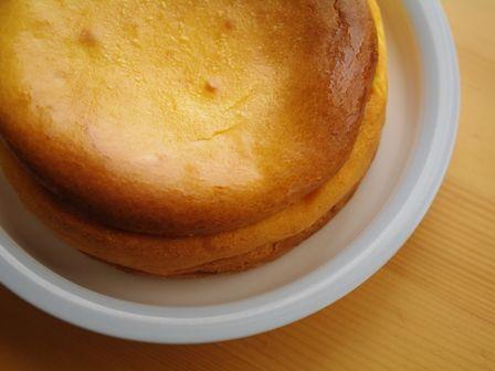 めろんカフェのチーズケーキ