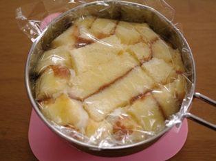 2種類のチーズでズコット風ケーキ07