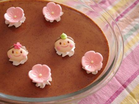 スコップケーキ3色プリン