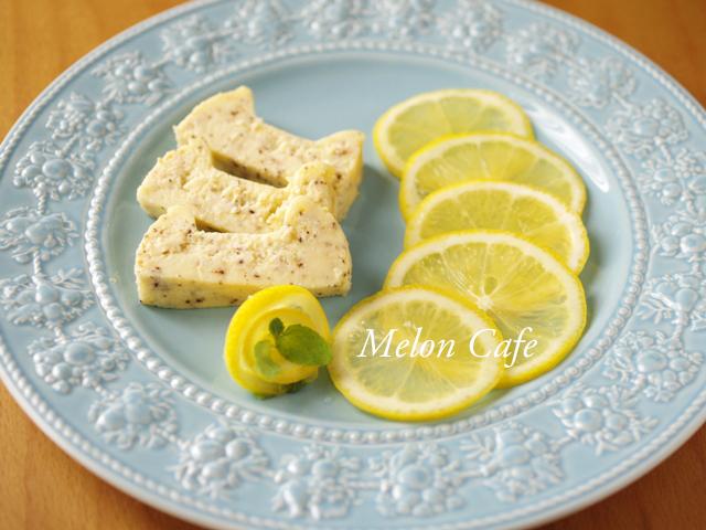 簡単さわやかレモンティーチーズケーキ