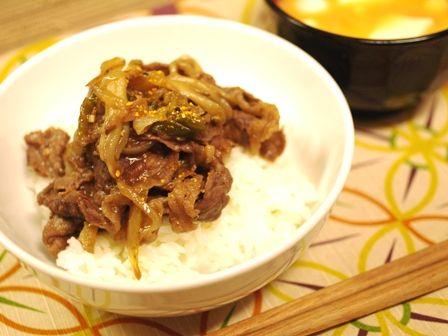 牛肉と舞茸の炒め物