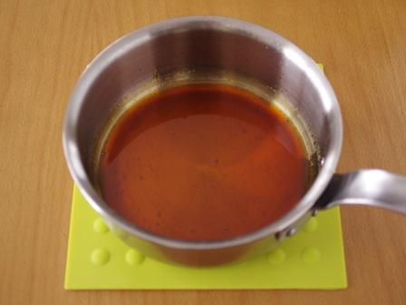 パウンド型でおおきな焼きプリン01