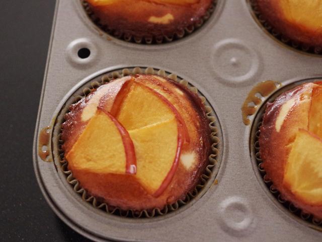 簡単りんごのバスクチーズケーキ14