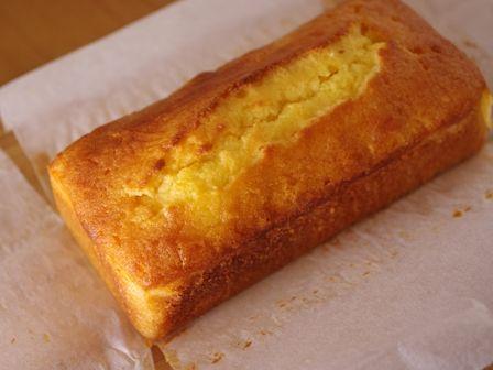 簡単パウンド生地でしっとりオレンジケーキ04