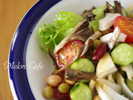 新たまねぎと豆の簡単ジャーサラダ01
