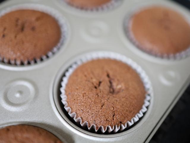 簡単チョコレート入りココアケーキ06
