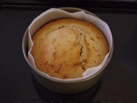 ホットケーキミックスで作るホールケーキ03