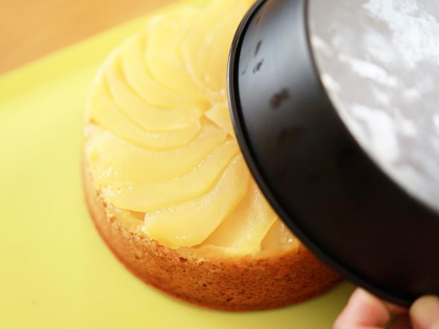 HMで簡単りんごと紅茶のアップルティーケーキ14