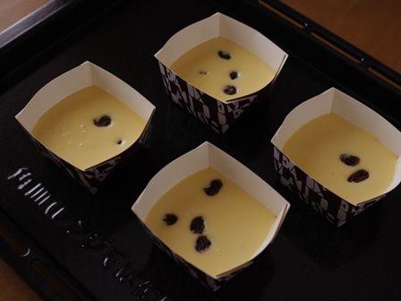 5月レーズン入りベイクドチーズケーキ06