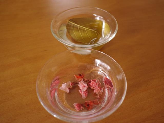 ホットケーキミックスで桜のチーズケーキ07