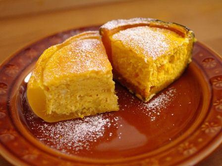 ハロウィンかぼちゃのまるごとクリームチーズケーキ12