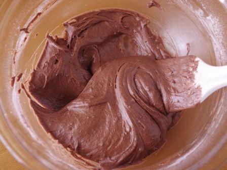 簡単にできるパウンドケーキ生地で贅沢チョコレートブラウニーバレンタインに04