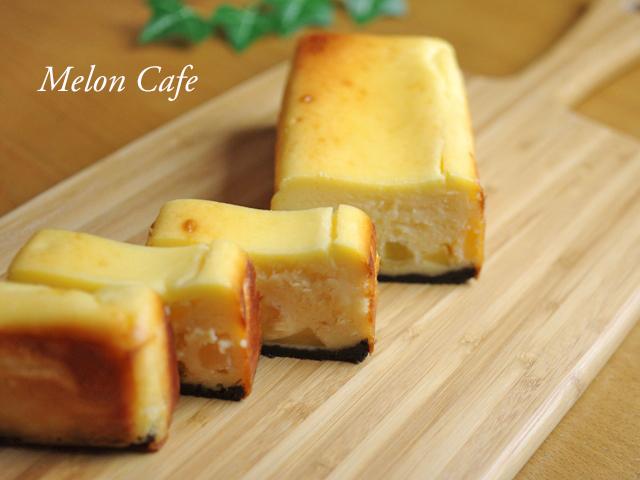 リンゴとホットケーキミックスのチーズケーキ12