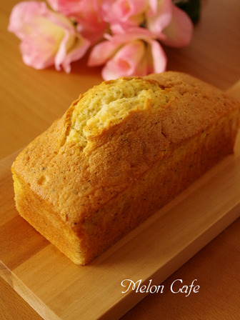 アールグレイの紅茶パウンドケーキb