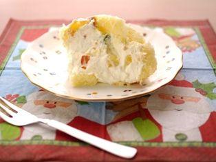 2種類のチーズでズコット風ケーキ00