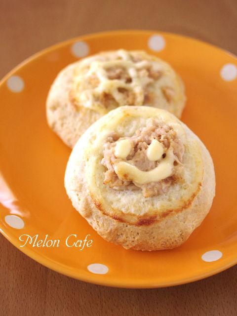 ホットケーキミックスで作る簡単シーチキンパンおかずパン