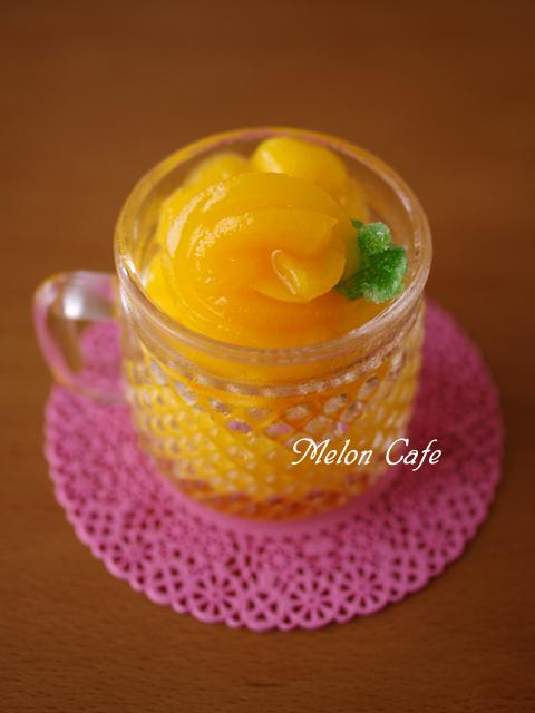 黄桃の贅沢ソルベ缶詰で簡単にひんやりシャーベット05