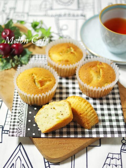 りんご紅茶のカップケーキ01