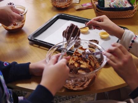 お菓子作り教室チョコレートガナッシュのタルト06