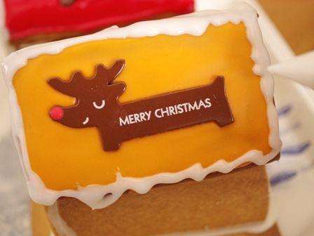 クリスマスのヘクセンハウスお菓子の家2014meloncafe00