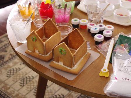 クリスマスのヘクセンハウスお菓子の家2014meloncafe06