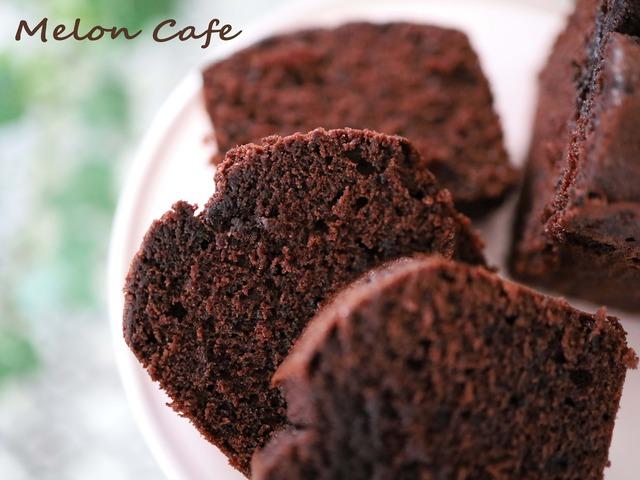 HMとココアで簡単チョコレートケーキ_001.JPG