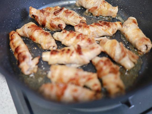 豚バラ肉の巻き焼き07