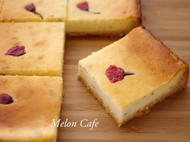 ホットケーキミックスで桜のチーズケーキ08