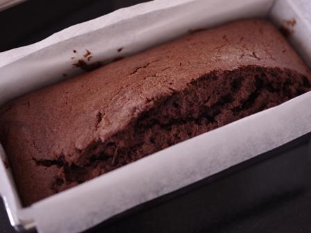 チョコバナナのバニラパウンドケーキ07