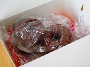 チョコレートの焼きドーナツ02