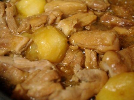 ほこほこ和風とり芋煮のサワークリーム添え04