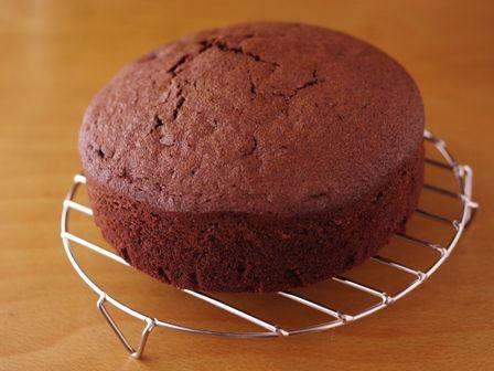 ホットケーキミックスで作る超簡単クリスマスケーキチョコレートケーキ02