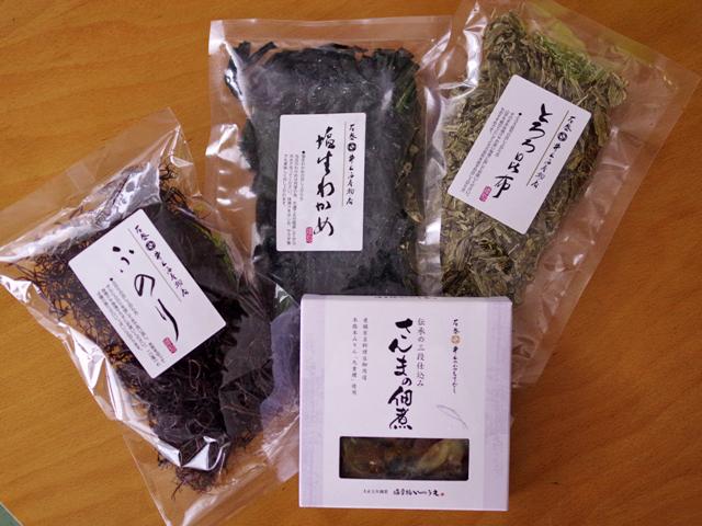 石巻の井上海産物店で朝食レシピ03