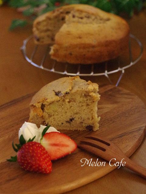 ホットケーキミックスで作るホールケーキ05