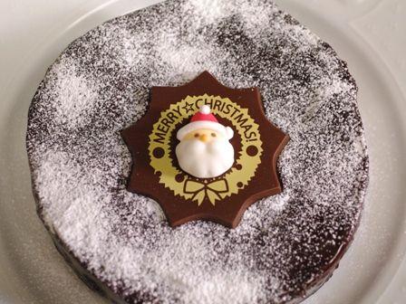 ガトー・オ・ショコラのクリスマスケーキ201310